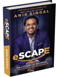 eSCAPE Book by Anik Singal